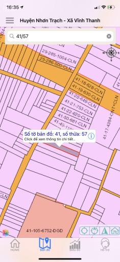 Vĩnh Thanh có sẵn 100m2 thổ cư khu dân cư 1 sẹc giá chỉ 6tr5/m2, 0375019940 (Tùng nhận ký gửi đất) ảnh 0