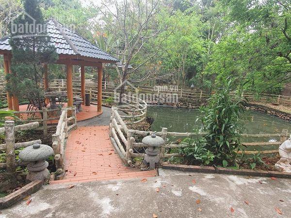 Quá lý tưởng với 1 khuôn viên nhà vườn hoàn thiện DT 2100m2 tại Vân Hòa Ba Vì. LH: 0964696068