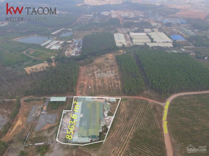 Bán khu nhà xưởng hơn 8500m2 ở Đồng Nai, có sẵn nhà ở cho công nhân, khu văn phòng, trạm điện 750KW