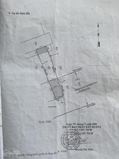 Bán nhà đường An Bình, P5, Q5, 4.2 tỷ, khu trung tâm, giá tốt, gần chợ Hòa Bình ảnh 0