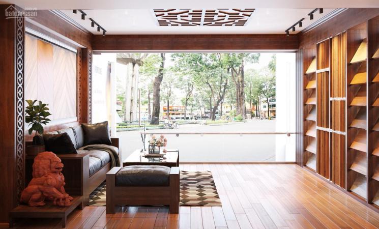 Cho thuê cửa hàng MBKD tầng 1 35m2 mặt tiền 5,5m ngã 4 Hoàng Quốc Việt, Nguyễn Phong Sắc, Trần Cung ảnh 0
