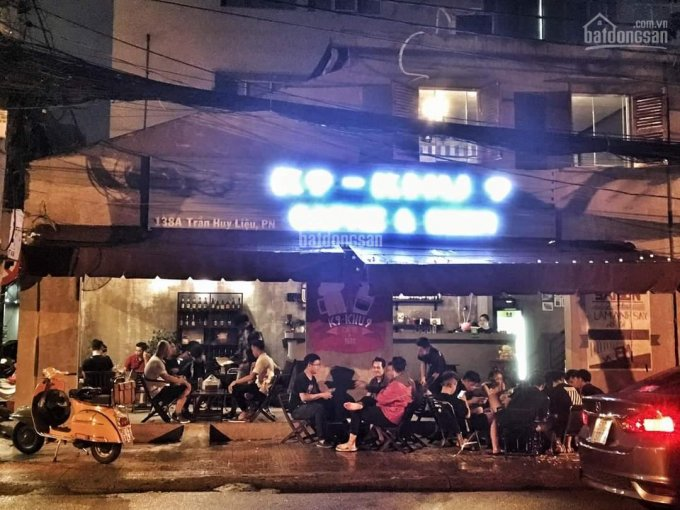 Sang nhượng quán cà phê góc 2 mặt tiền Quận Phú Nhuận trung tâm TP giá 320tr