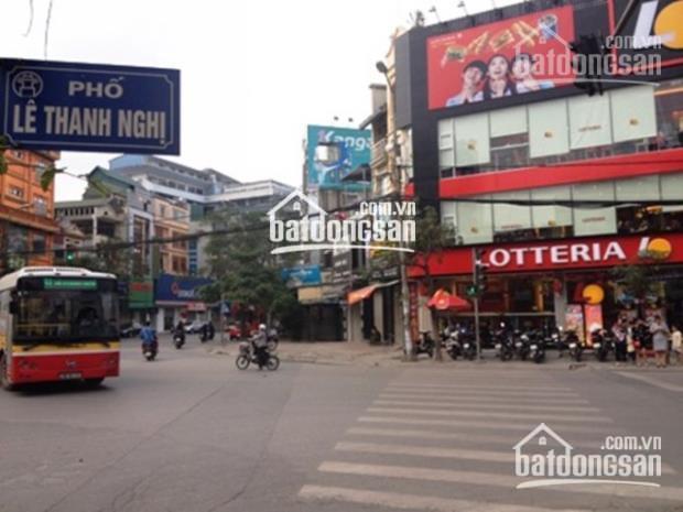 Bán nhà mặt phố Lê Thanh Nghị, 75m2, 7 tầng thang máy, thuê 100 triệu, giá hơn 20 tỷ ảnh 0