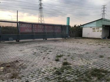 Cho thuê MB 13.000 m2 làm bãi giữ xe, bãi chứa VLXD – sắt thép trước cổng KCN Hiệp Phước, H Nhà Bè