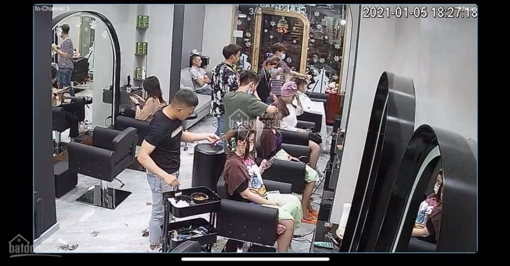 Sang nhượng salon tóc thiết kế tinh tế tâm huyết, giá 350tr