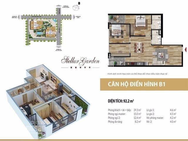 Căn hộ chung cư - vị trí đẹp, giá tốt tại Stella Garden 35 Lê Văn Thiêm - liên hệ trực tiếp ảnh 0