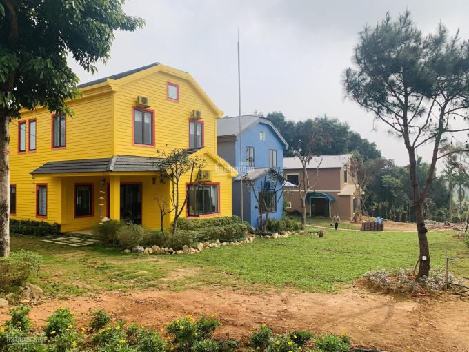 Hot, bán 5940m2 thổ cư 500m2 thuộc quần thể nghỉ dưỡng tại Yên Bài Ba Vì view thung lũng đồi chè