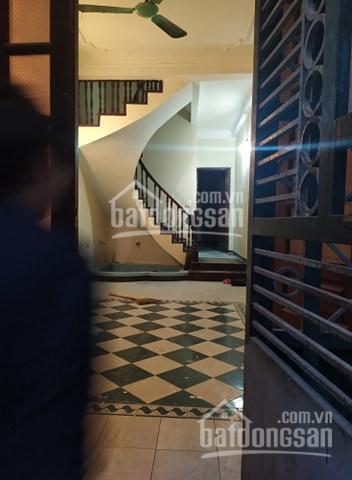 Cho thuê nhà làm văn phòng 50m2x4T ngõ 120 Trần Cung, Hoàng Quốc Việt ô tô đỗ cửa ảnh 0