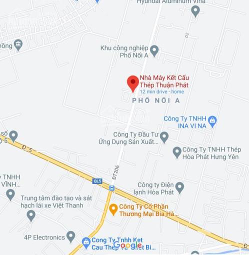 Chính chủ cần cho thuê nhà xưởng tại KCN Phố Nối A, xã Lạc Hồng, huyện Văn Lâm, tỉnh Hưng Yên ảnh 0