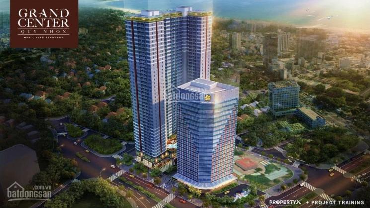 Tôi chính chủ cần bán gấp căn số 22 tầng 6 ngay hồ bơi dự án Grand Center Quy Nhơn ảnh 0