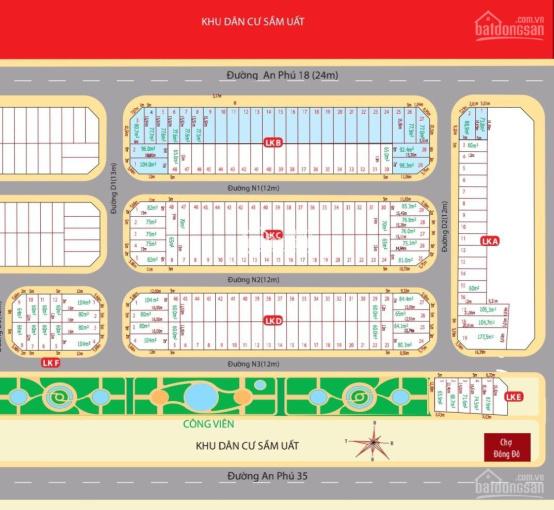 Bán đất nền Bình Dương - Unimall Center - Thuận An liên hệ 0932694943 - em Giang ảnh 0