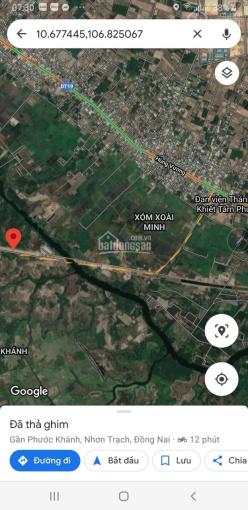 Phước Khánh, Nhơn Trạch, đường ô tô ngay vòng xuyến về cầu Cát Lái, 950 triệu/1000m2, sổ hồng riêng ảnh 0