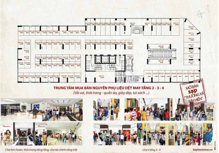 Bán sạp kinh doanh thương xá Bảy Hiền, gần ngay chợ Tân Bình, nhận sạp kinh doanh ngay. 0906923839 ảnh 0