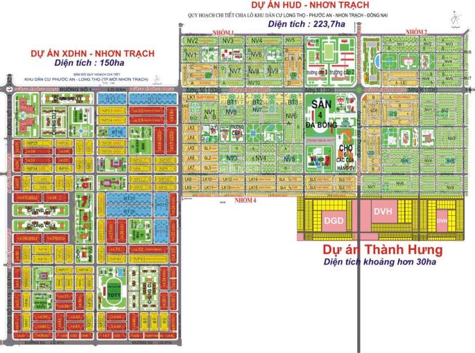 Mua bán kí gửi đất nền HUD - XDHN, Thành Hưng, Ecosun, mua bán nhanh, LH: 0938.253.386 ảnh 0