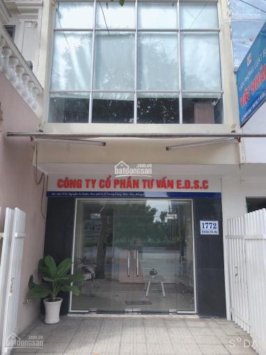 Cho thuê nhà mặt tiền đường Nguyễn Ái Quốc