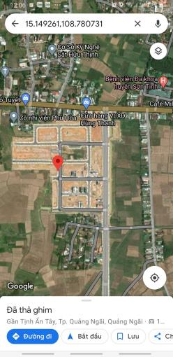 Bán đất khu dân cư Thạch Bích TTTP Quảng Ngãi. Giá rẻ ảnh 0