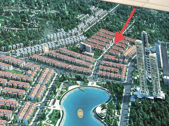 Cần bán căn góc 3 mặt thoáng DT 227m2, BT Dương Nội Nam cường, gần hồ công viên thiên văn ảnh 0