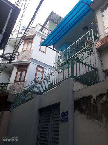 Chủ bán gấp nhà 1T 1L Nơ Trang Long, P12, Q. Bình Thạnh, 57m2, SHR, LH: 0924742170 ảnh 0