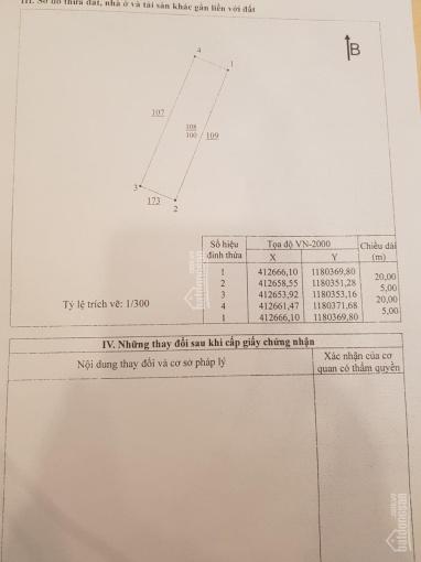 Chính chủ bán đất thổ cư Nhơn Trạch, sổ riêng, mặt tiền nhựa 17m, 100m2, 1,25 tỷ