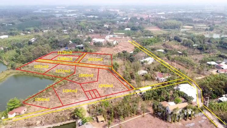 Bán 1011m2 đất 2 mặt tiền ấp 1 vĩnh tân vĩnh cữu giá chỉ 750 triệu