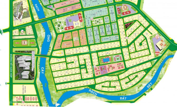 Chuyên bán đất nền dự án Phú Nhuận Phước Long B, Q9, sổ đỏ - vị trí đẹp giá cập nhật tháng 07/2021 ảnh 0
