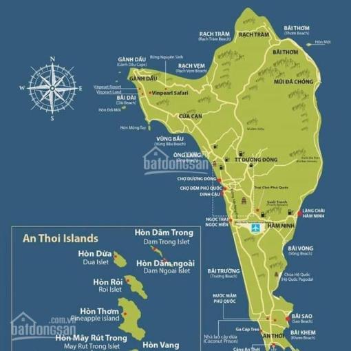 Bán 3.000m2 mặt tiền Dương Đông - Cửa Cạn, giá 14 tỷ/công, vuông vức, qh 100% đất ở, Ấp Ông Lang ảnh 0