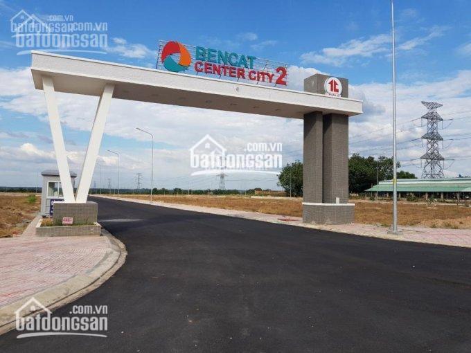 Bán gấp lô đất dự án Bến Cát Center City. Mặt tiền đường Hùng Vương, sổ hồng/thổ cư 100% ảnh 0