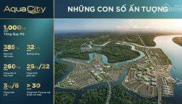 Bán nhà phố chính chủ Aqua City 8x20m, 6.35 tỷ, lịch tt chuẩn 1%/tháng, call 0977771919 ảnh 0