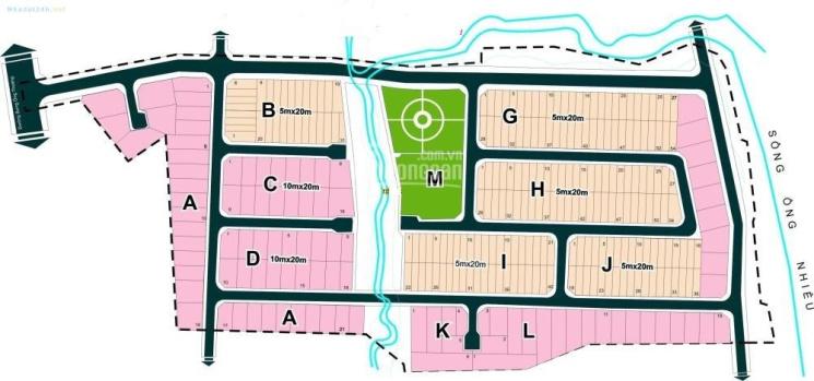 Bán nhanh nền biệt thự lô A, DT 230m2 dự án Đông Dương, Phú Hữu, Quận 9, giá 26,5 tr/m2 ảnh 0