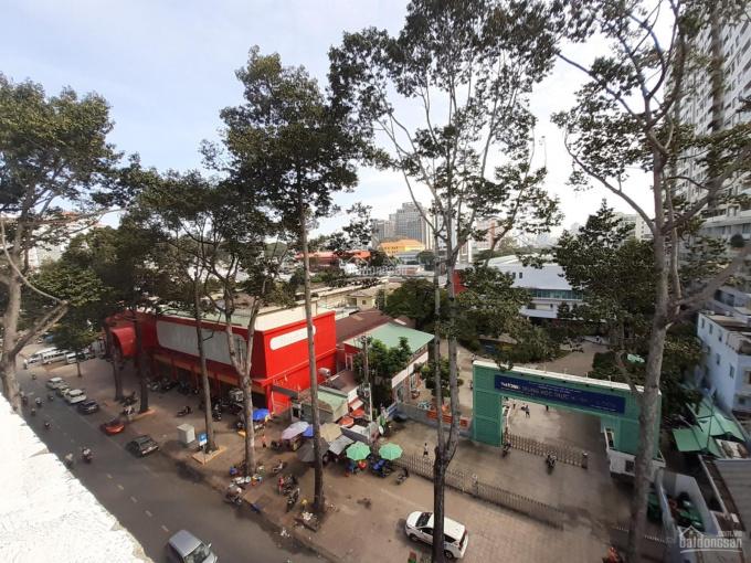 Bán nhà mặt tiền Trần Bình Trọng, Quận 5, DT đẹp (5x21m) 7 tầng lầu mới, thang máy cao cấp ảnh 0