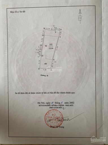 Nhà ngõ 44 phố Hào Nam - Đống Đa 115.6m2 nở hậu, ngõ chợ thông tứ tung, tiện kinh doanh buôn bán ảnh 0