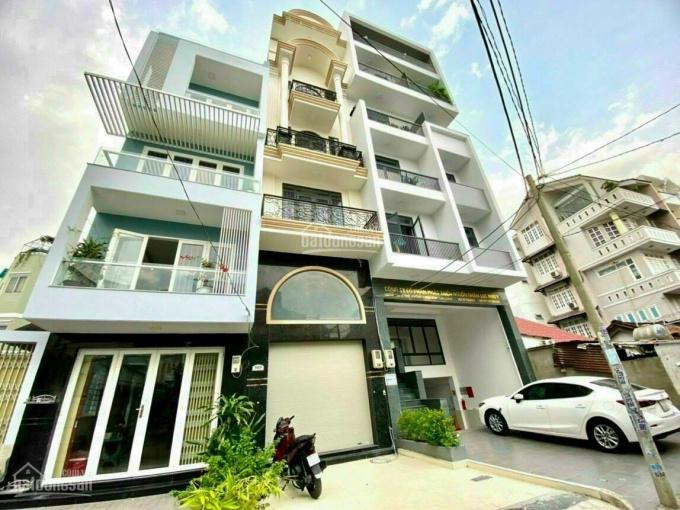Bán nhà mặt tiền nb đường Lê Trực, Phường 7, Bình Thạnh, 6 tầng, thang máy, giá 11 tỷ ảnh 0