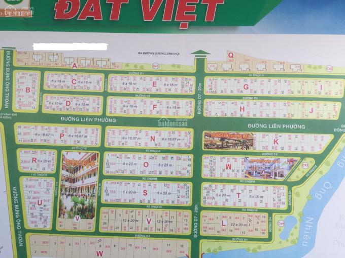 Bán đất sổ đỏ dự án Sở Văn Hóa, Phú Hữu, Quận 9, mặt tiền đường Liên Phường, giá chỉ 84tr/m2 ảnh 0