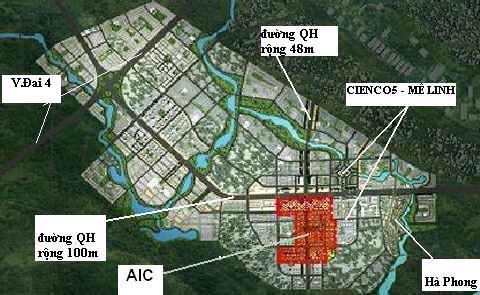 Bán gấp lô biệt thự ĐL trục chính KĐT Cienco 5 Mê Linh, giá đất 17tr/m2, LH ngay 0966.331.789 ảnh 0