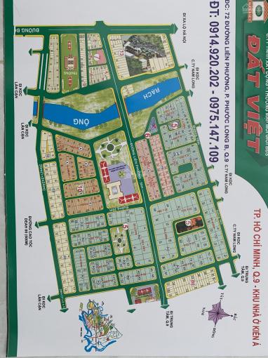 Bán lô KD 200m2 dự án Kiến Á, Phước Long B, Quận 9. Vị trí đẹp giá tốt ảnh 0