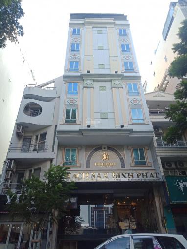 Bán khách sạn 7 tầng Đề Thám, Q1, thang máy, DT: (4.7x15m), giá chỉ 39.5 tỷ (TL), LH 0903 609 846 ảnh 0