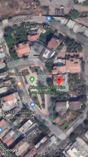 Chính chủ Cần tiền bán gấp nền biệt thự đẹp nhất trong khu dân cư Him Lam, Trường Thọ, Thủ Đức ảnh 0