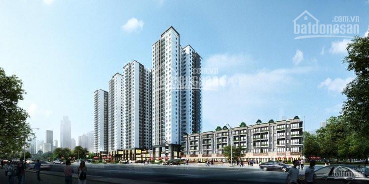 Bán kiot thương mại lô góc 114m2 view công viên, mặt đường lớn Trần Thủ Độ Hoàng Mai giá 28tr/m2 ảnh 0