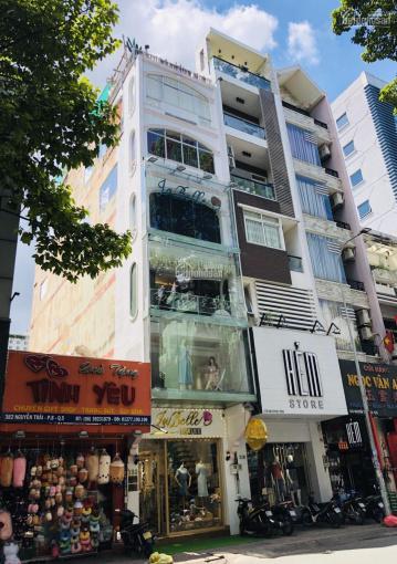 Cho thuê nhà MT Nguyễn Trãi, P7, Q5 gần Huỳnh Mẫn Đạt 3,5x13m 1 trệt, 1 lửng, 4 lầu, cầu thang cuối ảnh 0