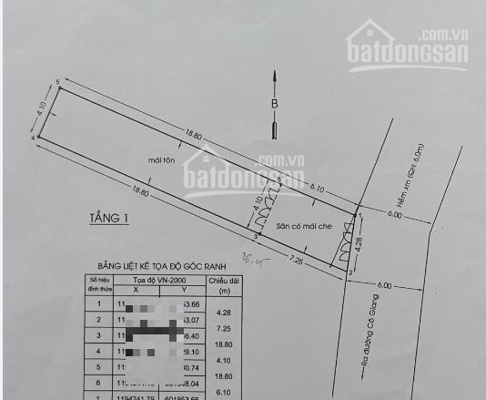 Nợ Bank Bán nhà HXH Cô Giang, P1, Phú Nhuận, thông đường Hoa, 4.2*24m, CN 103.3m2, chỉ 14.2 tỷ ảnh 0