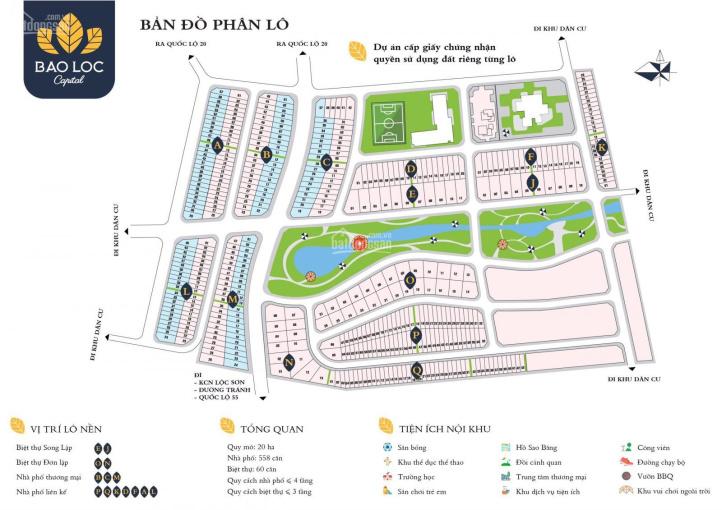 Đất Bảo Lộc Capital, giá tốt nhất thị trường, mặt tiền trục Bắc Nam ảnh 0