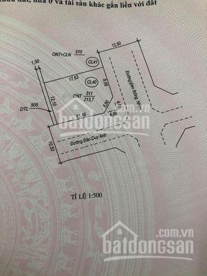 Bán lô góc khu Vùng Tằm, Lộc Ninh, giá bằng lô ống 2,7xx LH 0905702473 ảnh 0