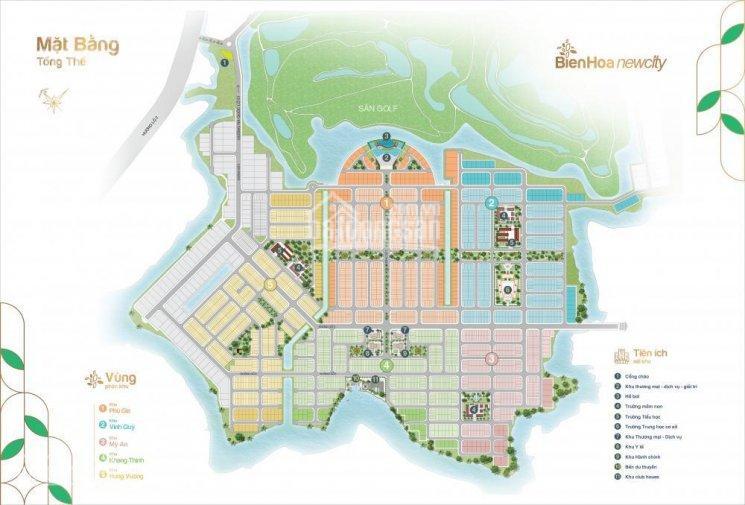 Chuyên bán đất nền Biên Hòa New City, sổ đỏ trao tay giá 15tr/m2 hạ tầng hoàn thiện, LH: 0903647344 ảnh 0