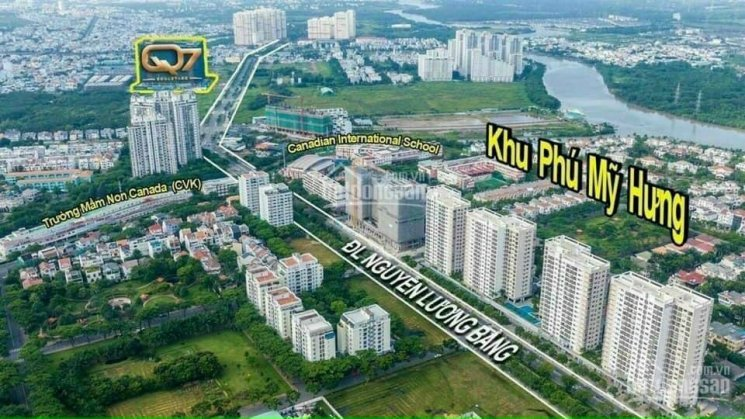 Bán gấp căn Shophouse 160m2 giá 59tr/m2 ngay mặt tiền Nguyễn Lương Bằng (40m) tiện kinh doanh ảnh 0