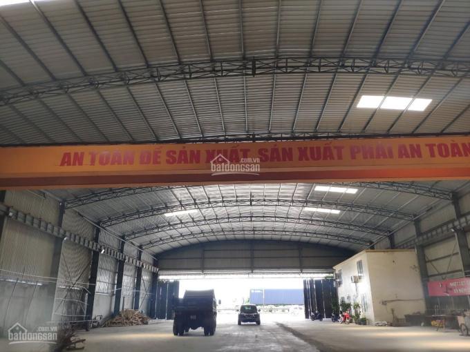 Cho thuê kho xưởng gần KCN Nomura, có cẩu giàn 10 tấn, trạm điện riêng 250kva. Giá cực rẻ 30k/m2 ảnh 0