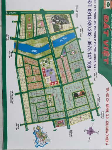 Bán gấp lô biệt thự Kiến Á, Q9, DT 10x21m, giá 53tr/m2, sổ đỏ riêng, dự án Kiến Á, Phước Long B, Q9 ảnh 0