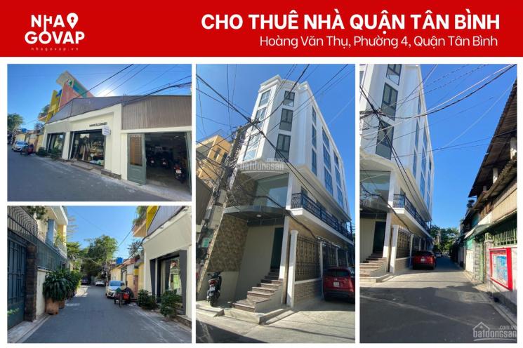 Cho thuê nhà đẹp mới xây nằm sát mặt tiền đường Hoàng Văn Thụ, DT sàn: 400m2 - vị trí cực đẹp! ảnh 0
