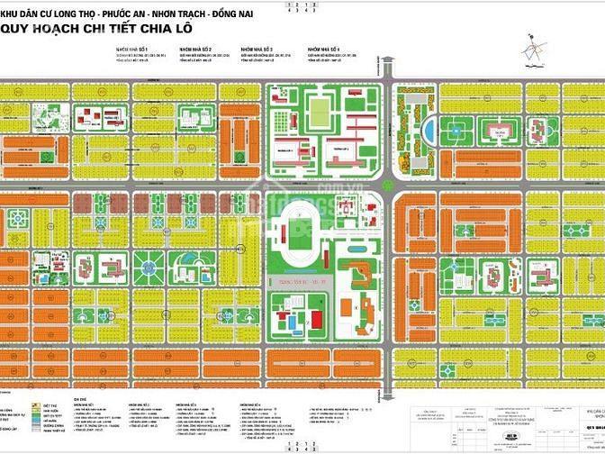 Bán đất nền thuộc dự án nằm kề nhau ở khu đô thị mới Long Thọ - Phước An ảnh 0