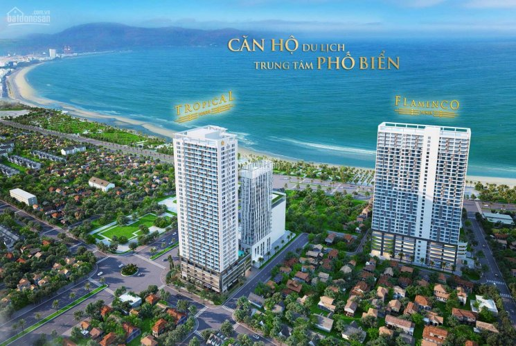 Căn hộ biển đẹp nhất TP. Quy Nhơn, view cáp treo Mũi Tấn, giá chỉ 1tỷ9/căn, LH 0936 193 217