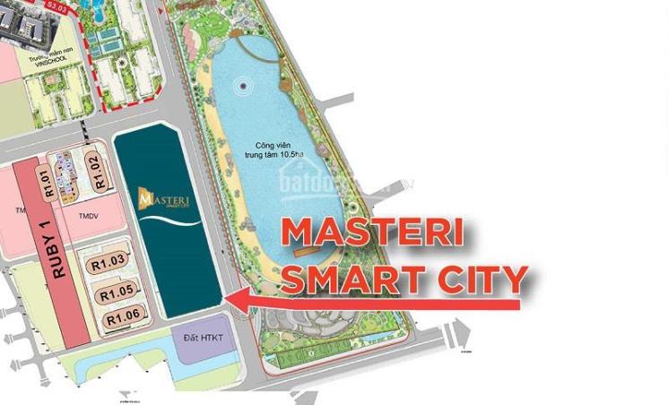 Giá bán căn hộ chung cư Masteri Smart City Tây Mỗ ảnh 0